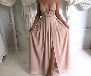 long, sexy, and beige image