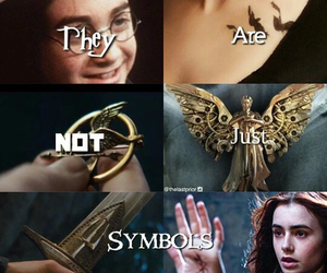 book, harry potter, and symbol image