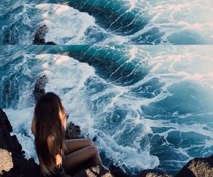 beach, boy, and paradise image