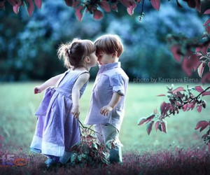 kid, romance, and roses image