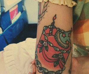 melanie martinez and tattoo image