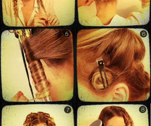 hair, vintage, and lauren conrad image