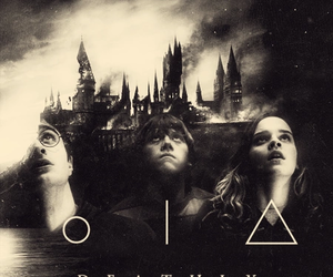 harry potter, deathly hallows, and hermione granger image