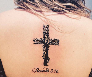cross, neck, and small image