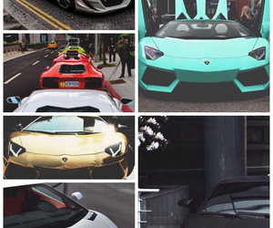 carros, cars, and Collage image