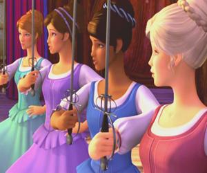 barbie, corinne, and girls image