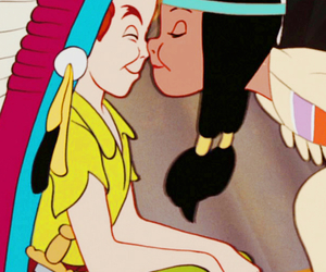 disney, peter pan, and kiss image