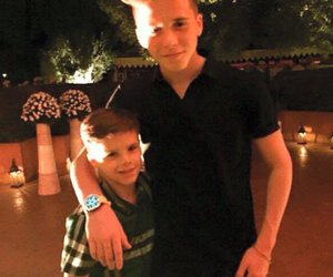 brother, lindo, and brooklyn beckham image