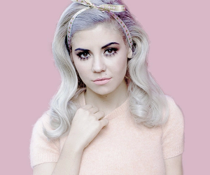 marina and the diamonds, pastel, and pink image