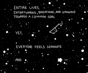 quotes, stars, and space image