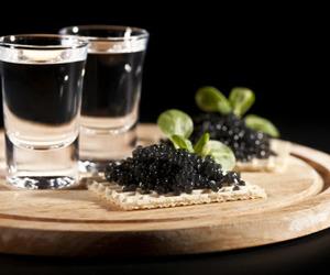 caviar, my favorites, and drinks image