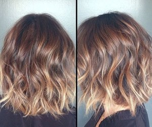hair, hairstyle, and ombre hair image