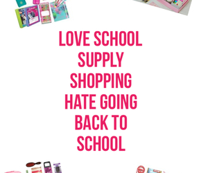 hate, school, and love image