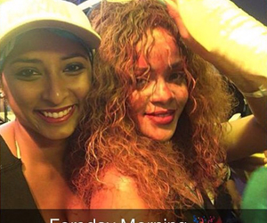 rihanna, cropover, and Robyn image
