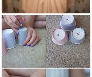 diy, fairylights, and do it yourself image