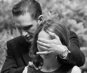 tom hardy, emily browning, and legend image
