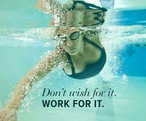 motivation, fitness, and swim image