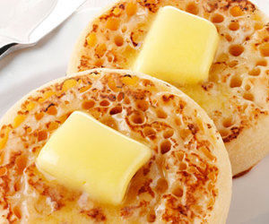 breakfast, brunch, and crumpets image