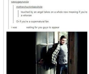 supernatural, dean, and spn image