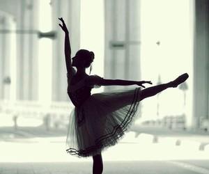 ballerina, love, and ballet image