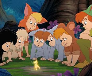 disney, peter pan, and lost boys image