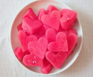 geil, heart, and melon image