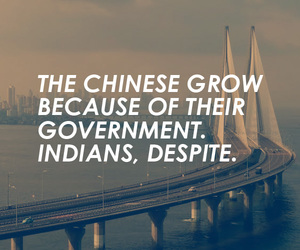 chinese, india, and government image