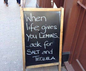 lemon, tequila, and alcohol image