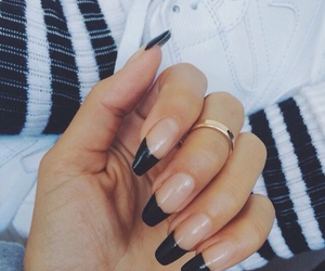 black, girls, and nails image