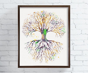 art, tree of life, and illustration image
