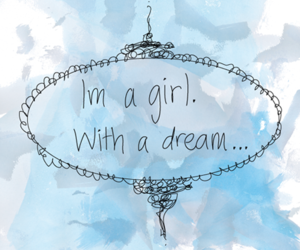 blue, Dream, and girl image