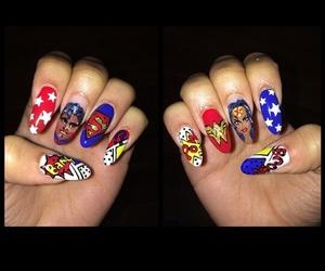 zendaya, nails, and superman image