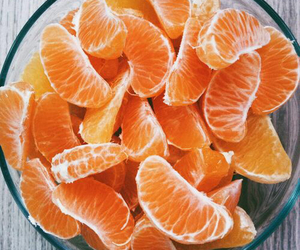 food, mandarines, and healthy image