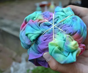 tie dye, quality, and tumblr image