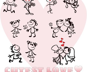 couple, story, and love image