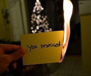 promise, fire, and text image