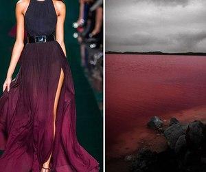 dress, fashion, and nature image