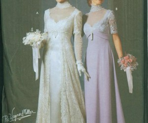 1911, dress, and gown image