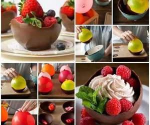 diy, chocolate, and food image
