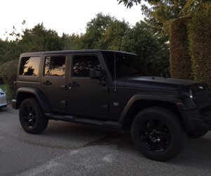 car, black, and jeep image