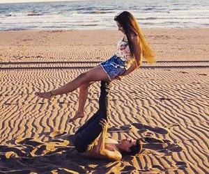 beach, boyfriend, and enjoy image