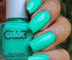 mint green and style image