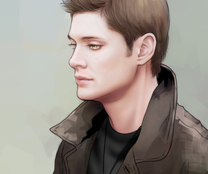 dean winchester, fan art, and Jensen Ackles image