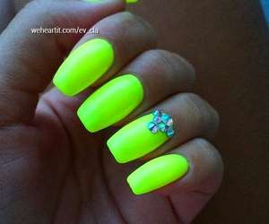 girly, neon, and summer image