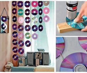 diy, cd, and room image
