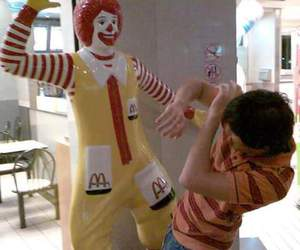 funny, lol, and McDonalds image