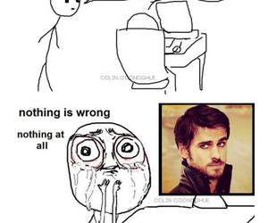 once upon a time, captain hook, and funny meme image
