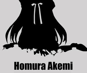madoka magica, mahou shoujo, and homura image
