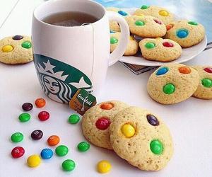 starbucks, Cookies, and food image
