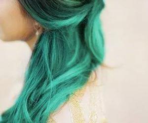 beautiful, black, and green image